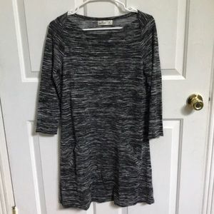 Hollister knit dress with pockets-worn once